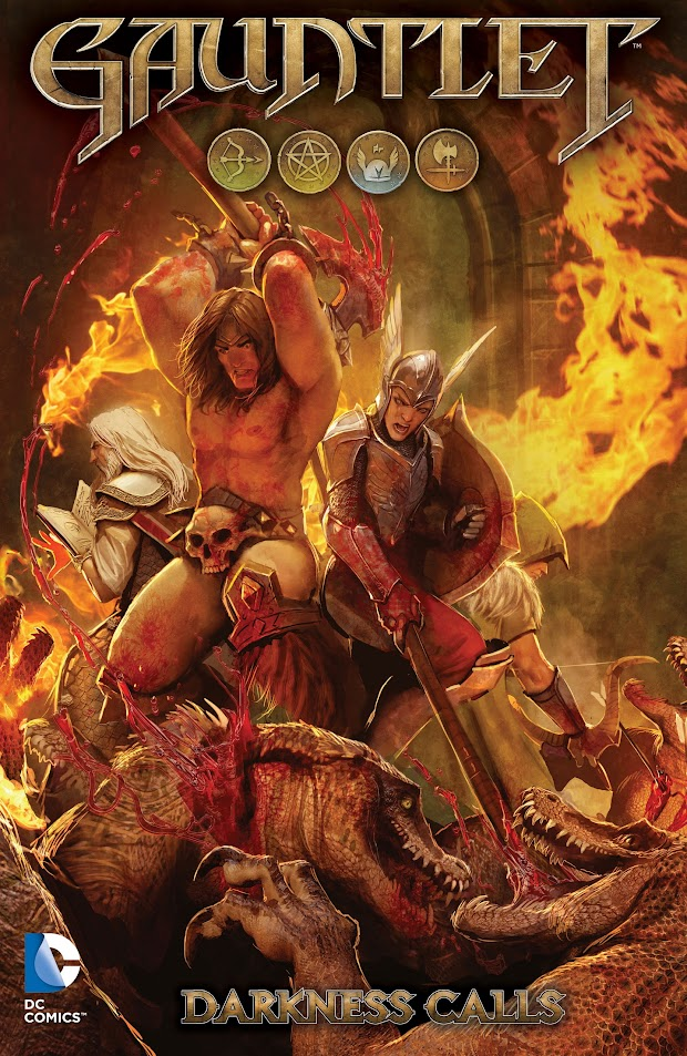 Gauntlet reboot to come with a digital comic for pre-orderers
