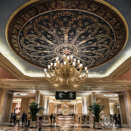 Venetian Lobby 2 by Oliver  Gellongos - Buildings & Architecture Other Interior ( interior, massive, lobby, canvas, casino, hotels,  )