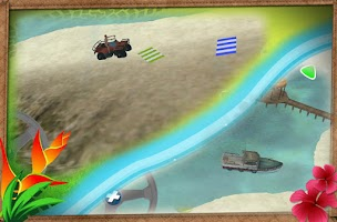 Screenshot of Beach Rescue Team Parking