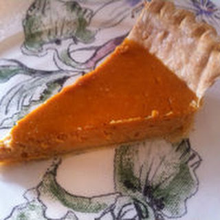Carrot Vanilla Bean Mascarpone Pie