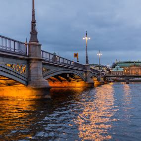 Bridge in Stockholm by Dan Westtorp - Buildings & Architecture Bridges & Suspended Structures