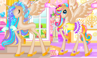 Screenshot of Pony Princess Birthday Party