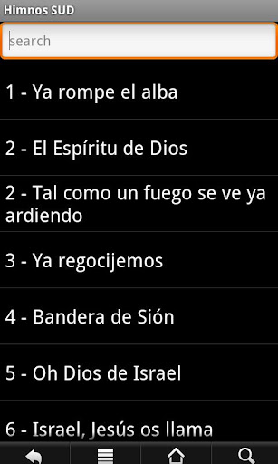 LDS Hymns Spanish