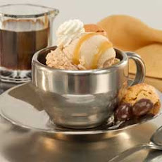 Mini Coffee Ice Cream Sundaes