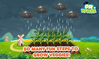 Screenshot of Dr. Panda's Veggie Garden