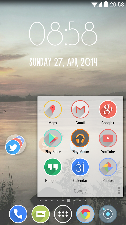 Velur - Icon Pack Screenshot 3