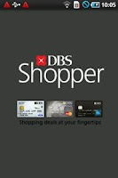 Screenshot of DBS Shopper