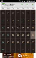 Screenshot of Calendario Festivos Colombia