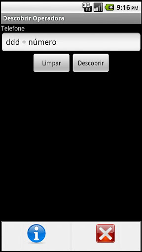 descobrir-operadora for android screenshot