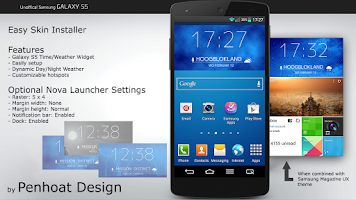 Screenshot of Galaxy S5 Free UCCW