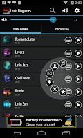 Screenshot of Latin Ringtones