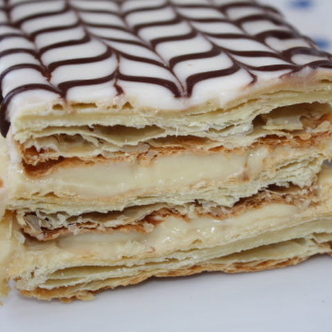 napoleon puff pastry Napoleon cake is such a delicious cake that's quite simple to make, especially if you buy the puff pastry dough pre-made this recipe is my aunt nelya's recipe that has been a family favorite for years.