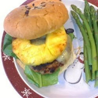 Five Spice Turkey Cheeseburgers