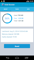 Screenshot of RAM Booster (Mem. Optimizer)