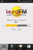 Screenshot of KurdFM