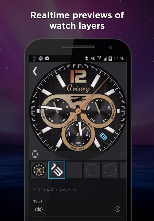 WatchMaker Premium Watch Face Screenshot 3