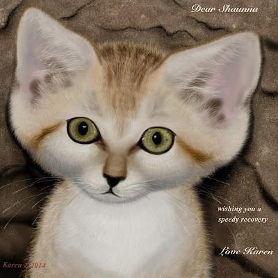 sand cat by karen zibert