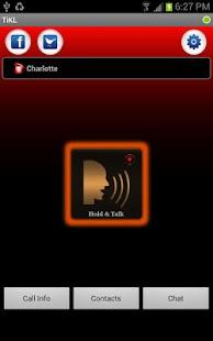 Free Download TiKL Touch Talk Walkie Talkie APK for Samsung