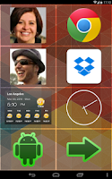 Screenshot of BIG Launcher Easy Phone DEMO