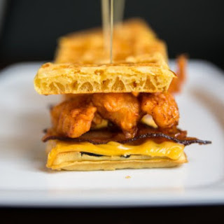 Dale Talde's Chicken And Waffle Sliders
