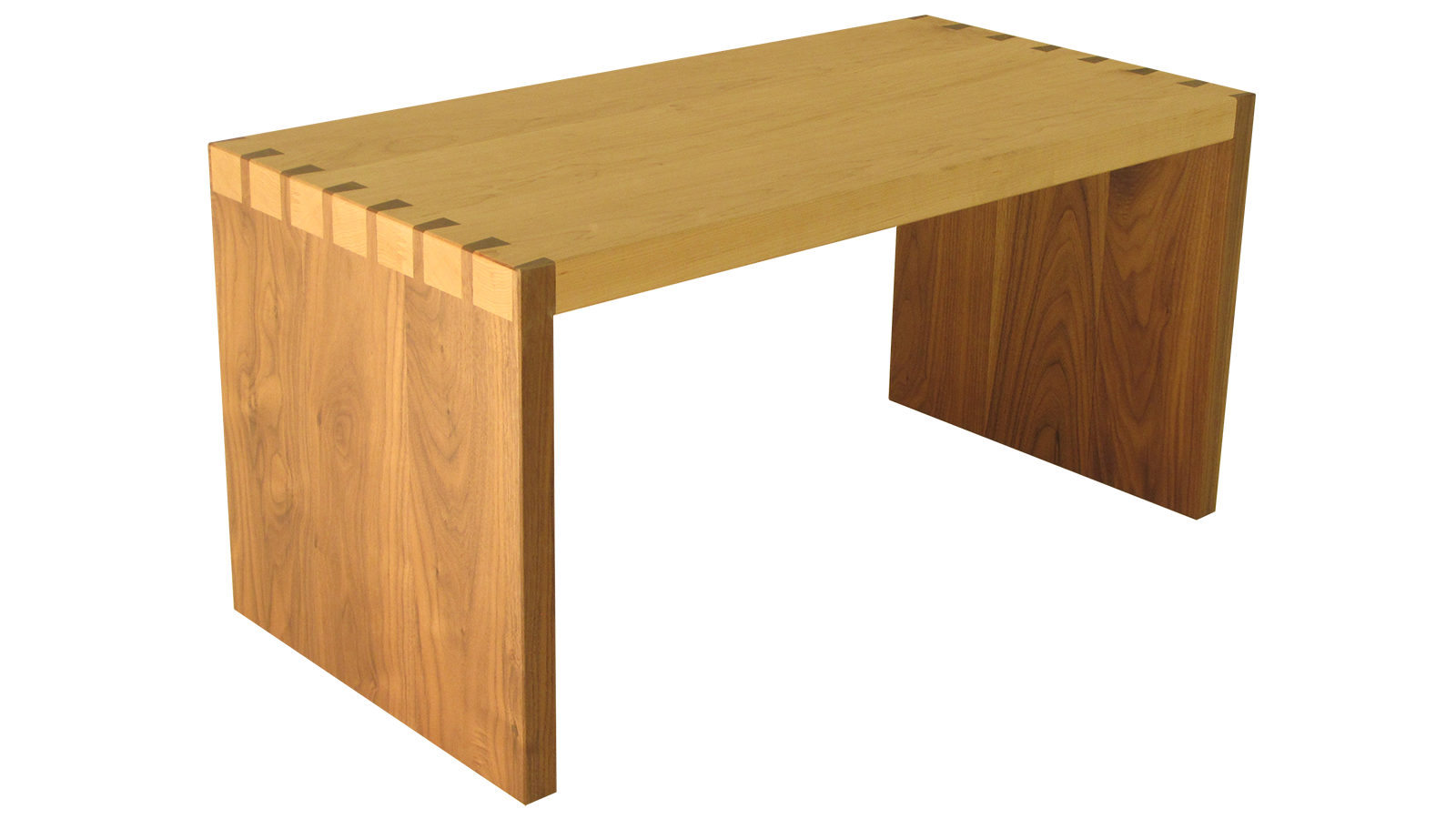 Sofa Side Table - Dovetailed in Oak and American Black Walnut
