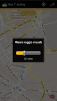Screenshot of Map Tracking