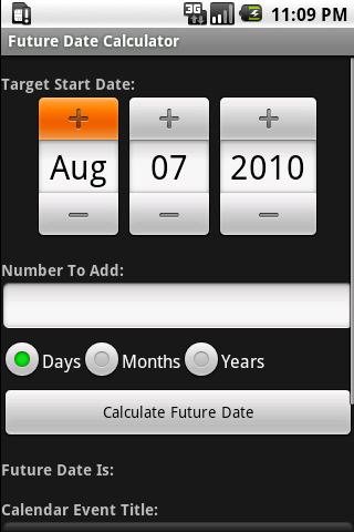 Future Date Calculator