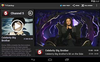 Screenshot of TVCatchup