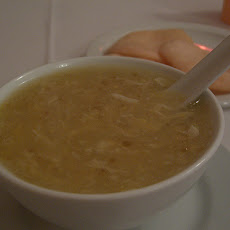 Chinese Chicken and Corn Soup (Egg Drop)