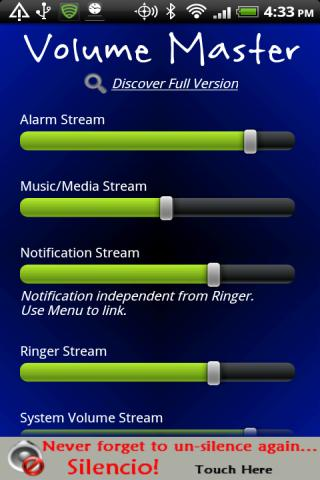 volume-master-free for android screenshot