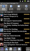 Screenshot of MyTunes Music Player Pro