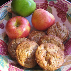 Sour Cream Bran Muffins With Apples