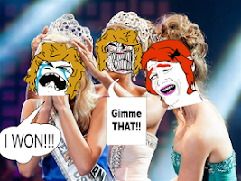 Screenshot of Troll Face Photo Booth