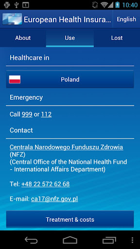 【免費旅遊App】European Health Insurance Card-APP點子