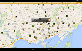 Screenshot of LCBO & Beer Store Finder