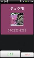 Screenshot of Call Widget Pro