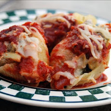 Turkey and Artichoke Stuffed Shells