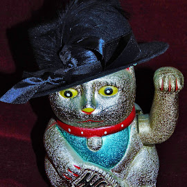 fancy chinese cat by Patrik Voicu - Artistic Objects Toys ( fancy, cat, chinese )