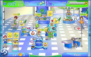 Screenshot of Supermarket Management