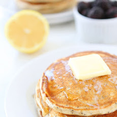 Lemon Poppy Seed Yogurt Pancakes