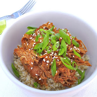 Spicy Sesame Honey Chicken… in the Crock Pot! {Gluten-free}