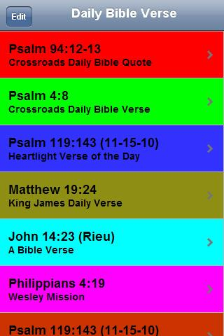 Bible Verses of the Day
