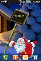 Screenshot of Santa New Year Live Wallpaper