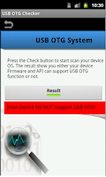 Screenshot of USB OTG Checker