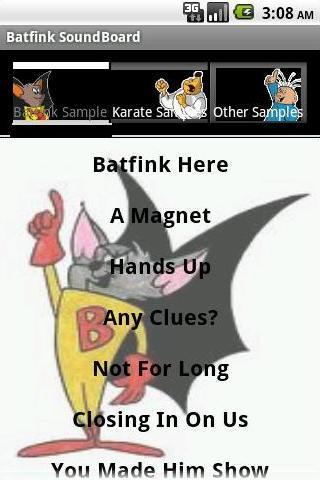 Batfink Soundboard 2.0