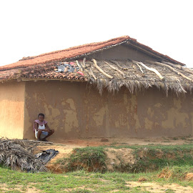 thatched roof by Mrinal Mohanti - Buildings & Architecture Homes