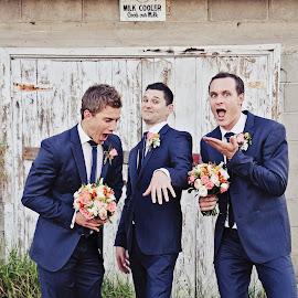 A Big Girlie 'WOW' by Alan Evans - Wedding Groom ( groomsmen, wedding ring, wedding photography, wedding day, wedding, aj photography, wedding flowers, groom )