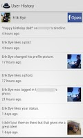 Screenshot of Stalker - Facebook Notifier