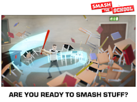 Screenshot of Smash the School - Stress Fix!