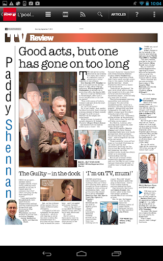 Liverpool Echo Newspaper - screenshot